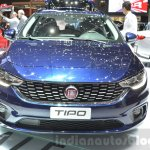 Fiat Tipo Estate front blue at the Geneva Motor Show Live