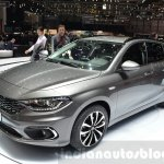 Fiat Tipo Estate front three quarter at the Geneva Motor Show Live