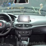 Fiat Tipo hatchback dashboard at the Geneva Motor Show Live