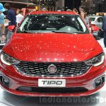 Fiat Tipo hatchback front at the Geneva Motor Show Live