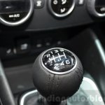 Fiat Tipo hatchback gear lever at the Geneva Motor Show Live
