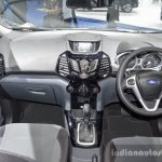 Ford EcoSport Black Edition dashboard at 2016 BIMS