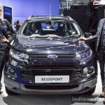 Ford EcoSport Black Edition front at 2016 BIMS