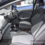 Ford EcoSport Black Edition front interior at 2016 BIMS