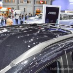 Ford EcoSport Black Edition roof rail front at 2016 BIMS