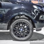 Ford EcoSport Black Edition wheel at 2016 BIMS