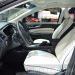 Ford Edge Vignale front seats at 2016 Geneva Motor Show