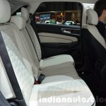 Ford Edge Vignale rear seats at 2016 Geneva Motor Show