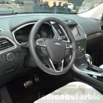 Ford Edge Vignale steering wheel at 2016 Geneva Motor Show