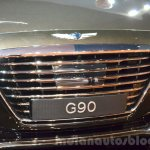 Genesis G90 grille at the 2016 Geneva Motor Show
