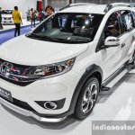 Honda BR-V Modulo front quarter at the 2016 BIMS