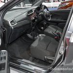 Honda BR-V front seat at the 2016 BIMS