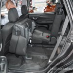 Honda BR-V rear seat folded at the 2016 BIMS