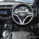 Honda BR-V steering wheel at the 2016 BIMS