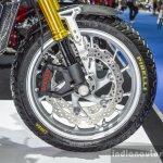 Honda CB650 Scrambler Concept Pirelli MT-60 tyres at 2016 BIMS