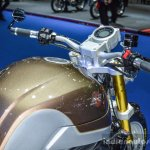 Honda CB650 Scrambler Concept brown-silver paint-job at 2016 BIMS
