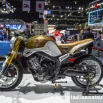 Honda CB650 Scrambler Concept left side at 2016 BIMS