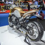 Honda CB650 Scrambler Concept rear quarter at 2016 BIMS