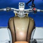 Honda CB650 Scrambler Concept rider view at 2016 BIMS
