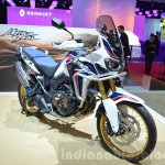 Honda CRF1000L Africa Twin front three quarters left at the 2016 Geneva Motor Show
