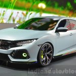 Honda Civic Hatchback Prototype at the 2016 Geneva Motor Show