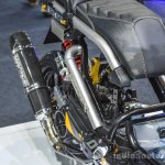 Honda Zoomer-X by KD Shop custom exhaust at 2016 BIMS