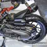 Honda Zoomer-X by KD Shop dual purpose tyre at 2016 BIMS