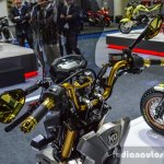 Honda Zoomer-X by KD Shop visor at 2016 BIMS