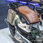 Honda Zoomer-X by Sry Shop brown seat at 2016 BIMS