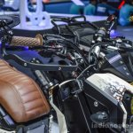 Honda Zoomer-X by Sry Shop hand guard at 2016 BIMS