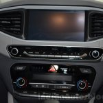 Hyundai Ioniq Hybrid center console at the 2016 Geneva Motor Show Live