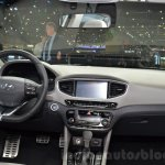 Hyundai Ioniq Hybrid dashboard at the 2016 Geneva Motor Show Live