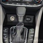 Hyundai Ioniq Hybrid floor console at the 2016 Geneva Motor Show Live