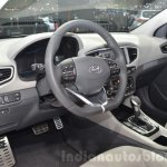 Hyundai Ioniq Hybrid interior at the 2016 Geneva Motor Show Live