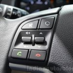 Hyundai Tucson call answer button at 2016 Geneva Motor Show