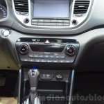 Hyundai Tucson center console at 2016 Geneva Motor Show