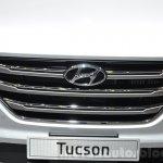 Hyundai Tucson grille at 2016 Geneva Motor Show