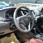Hyundai Tucson interior at 2016 Geneva Motor Show