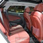 Hyundai Tucson rear seat at 2016 Geneva Motor Show