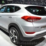 Hyundai Tucson rear three quarters at 2016 Geneva Motor Show