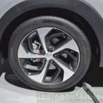 Hyundai Tucson wheel at 2016 Geneva Motor Show