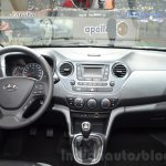 Hyundai i10 GO! dashboard at the 2016 Geneva Motor Show