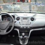 Hyundai i10 GO! dashboard at the 2016 Geneva Motor Show
