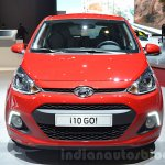 Hyundai i10 GO! front at the 2016 Geneva Motor Show