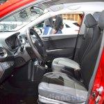 Hyundai i10 GO! front seat at the 2016 Geneva Motor Show
