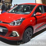 Hyundai i10 GO! front three quarter at the 2016 Geneva Motor Show