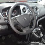 Hyundai i10 GO! interior at the 2016 Geneva Motor Show