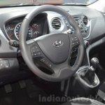 Hyundai i10 GO! interior at the 2016 Geneva Motor Show