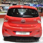 Hyundai i10 GO! rear at the 2016 Geneva Motor Show
