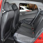 Hyundai i10 GO! rear seat at the 2016 Geneva Motor Show